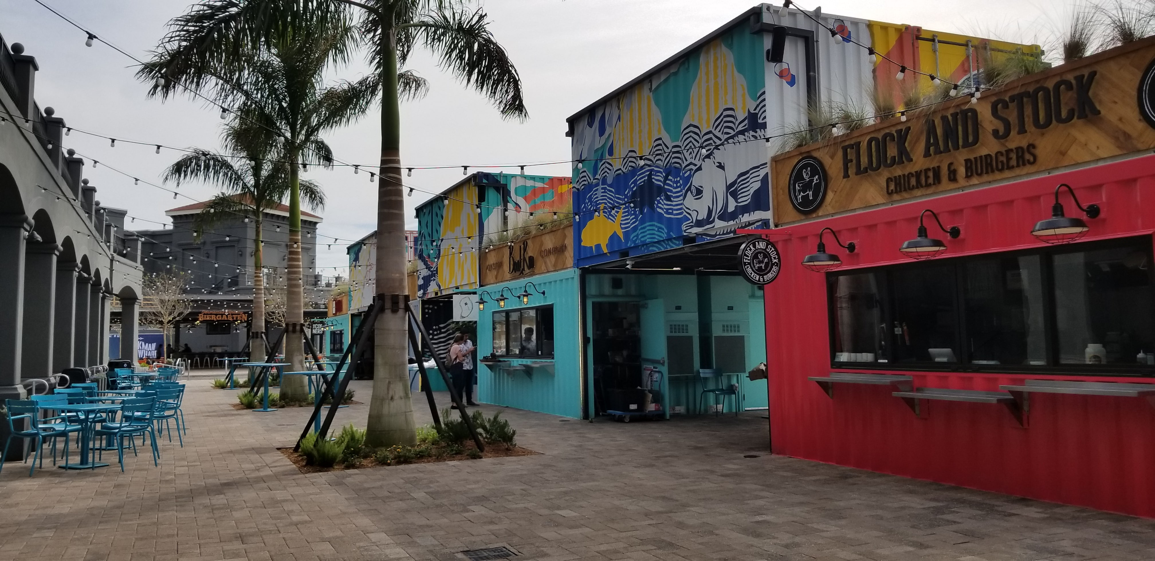 Sparkman Wharf Restaurant Row