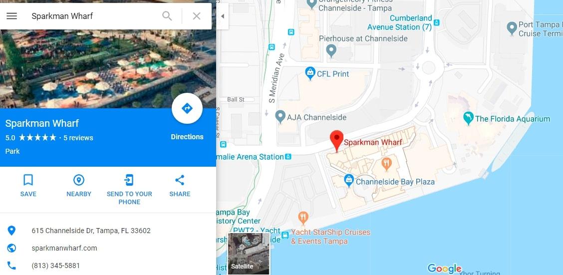 Sparkman Wharf | Tampa SEO Agency